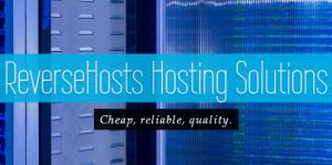 便宜VPS: ReverseHosts $12/年OpenVZ-512MB/60G/1TB 圣地亚哥