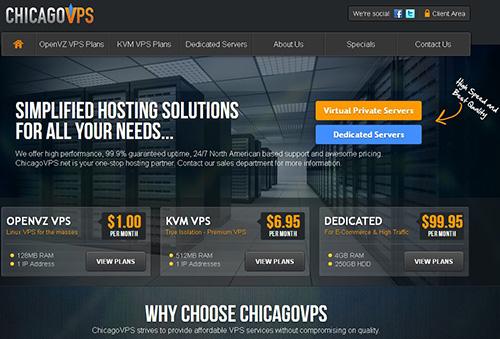 ChicagoVPS:$5/月/4GB内存/80GB空间/2TB流量/OVZ/洛杉矶/芝加哥