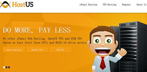 HostUS:洛杉矶OpenVZ/年付16美元/KVM月付5.56美元
