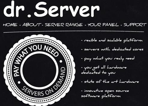 drServer:$13/月/Atom C2750/8GB内存/200GB SSD硬盘/不限流量/达拉斯