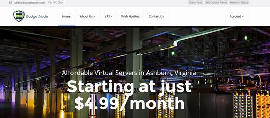 budgetnode:$30年/大硬盘VPS/1g内存/500g硬盘/支持自定义ISO